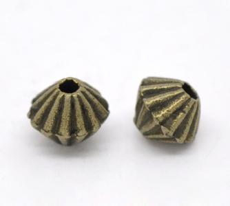 Бусина бронзовая (США) 5*4мм, цена за 1шт.