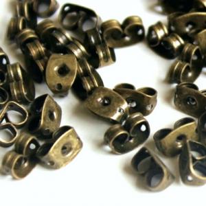 Заглушка бронзовая 5,5х4мм (США), за 1 пару