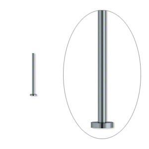 Гвоздики бижутерные черненый металл (США) 4см, 10шт.