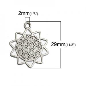 Коннектор металлический 29х25мм
