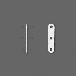 Коннектор посеребренный 17*4мм (США)