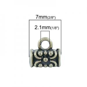 Бейл бронзовый 7х4мм