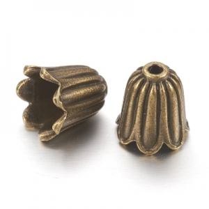 Конус бронзовый 10х10мм, цена за 1шт.