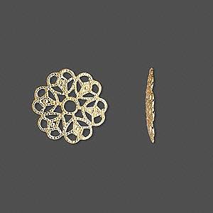 Коннектор позолоченный 15мм (США)