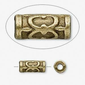 Бусина бронзовая (США) 13х6мм, цена за 1шт.