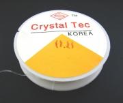 Основа силиконовая эластичная прозрачная 0,8мм, за 10 метров