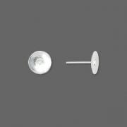 Основы гвоздики посеребренные 8мм (США)