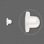 Заглушка гипоалергенная силиконовая (США) 7х5мм, за 1 пару