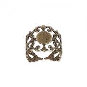 Основа для кольца бронзовая (США)